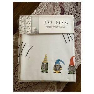 Rae Dunn Shower Curtain Liner Family Gnomes